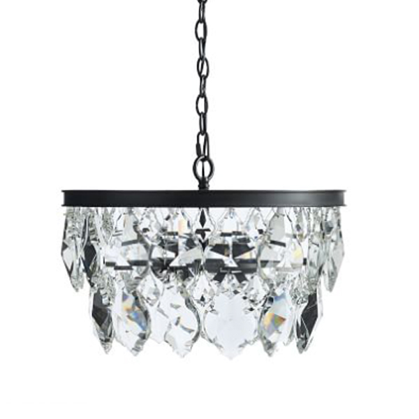 SY-CDL2327-Contemporary Loft Crystal Chandelier Crystal Leaf Chandelier