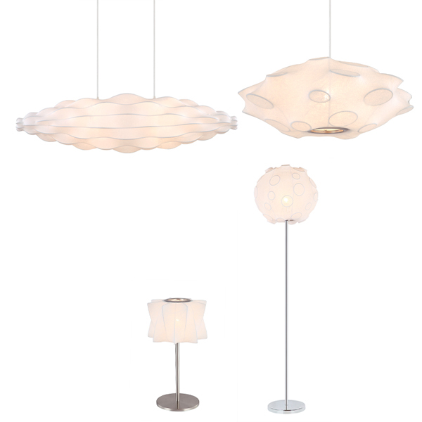 SY-EFWL528-Elastic Fabric Light Ceiling Light Floor Lamp Table Light Pendant Light