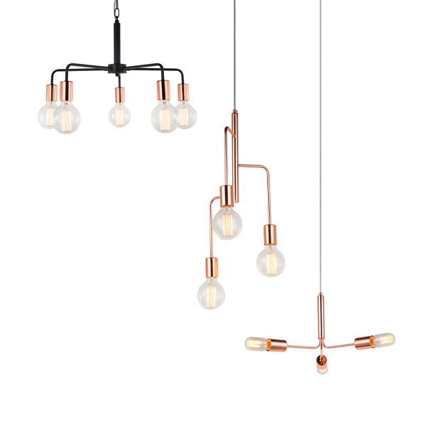 SY-CCBL7111-Copper Ceiling Light Copper Pendant Light