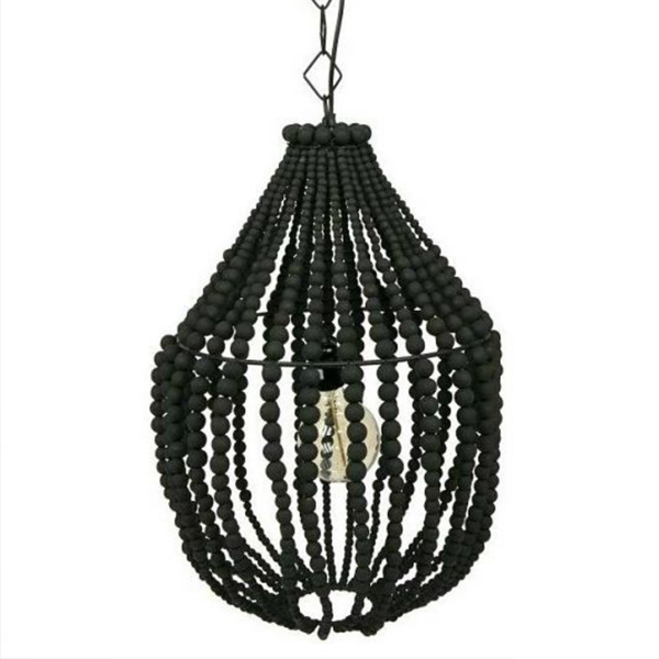 SY-CDL2330-Wooden Beads Chandelier Antique Chandelier