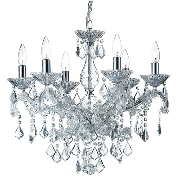 SY-CDL2333-Antique Crystal Chandelier Baroque Crystal Chandelier