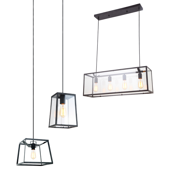 SY-GIPL868-Glass Industrial Pendant Light
