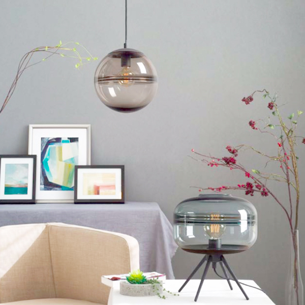 SY-GPLT492-Glass Pendant Light Table Lamps