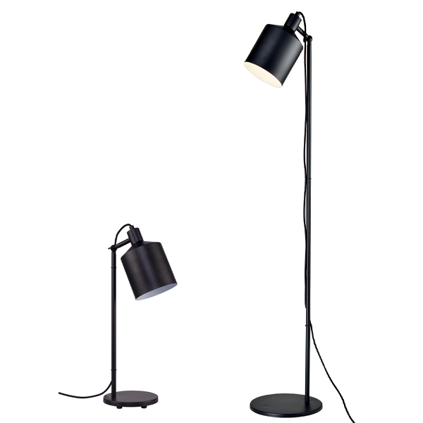 SY-MBFL738/MBTL738-Modern Black Table Lamp Floor Light