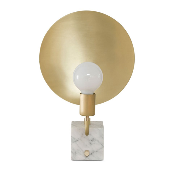 SY-MDT019-Marble Table Lamp Brass Table Light